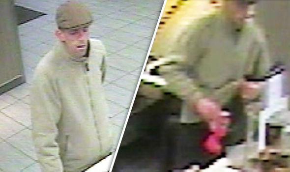DISGUSTING: CCTV footage shows moment thief steals army veterans' Poppy collection box