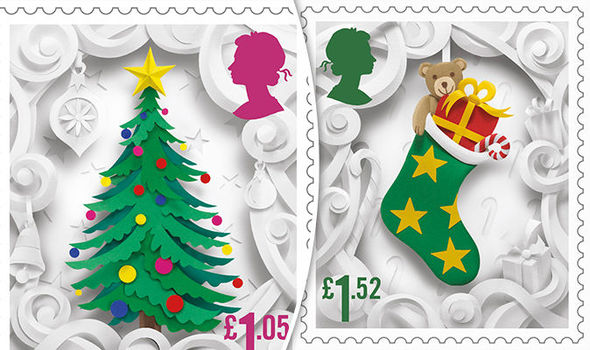 Royal Mail Christmas stamps: New set including a snowman, robin and laterns