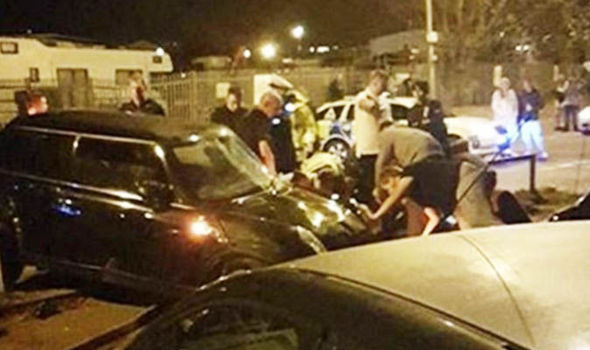 Seven injured after car PLOUGHS into crowd in Kent