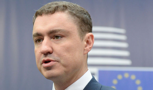 EU humiliation as Estonia's government COLLAPSES after PM gets vote of no-confidence