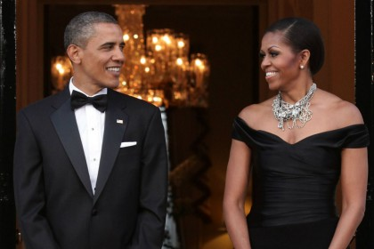 What will Barack and Michelle Obama do when he leaves office?