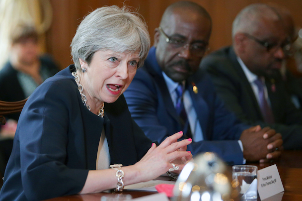 May apologises to Caribbean leaders for Windrush injustice