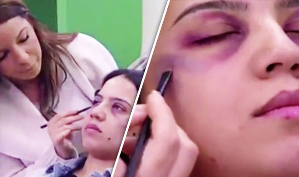 Anger over make-up tutorial to help women HIDE BRUISES from domestic violence