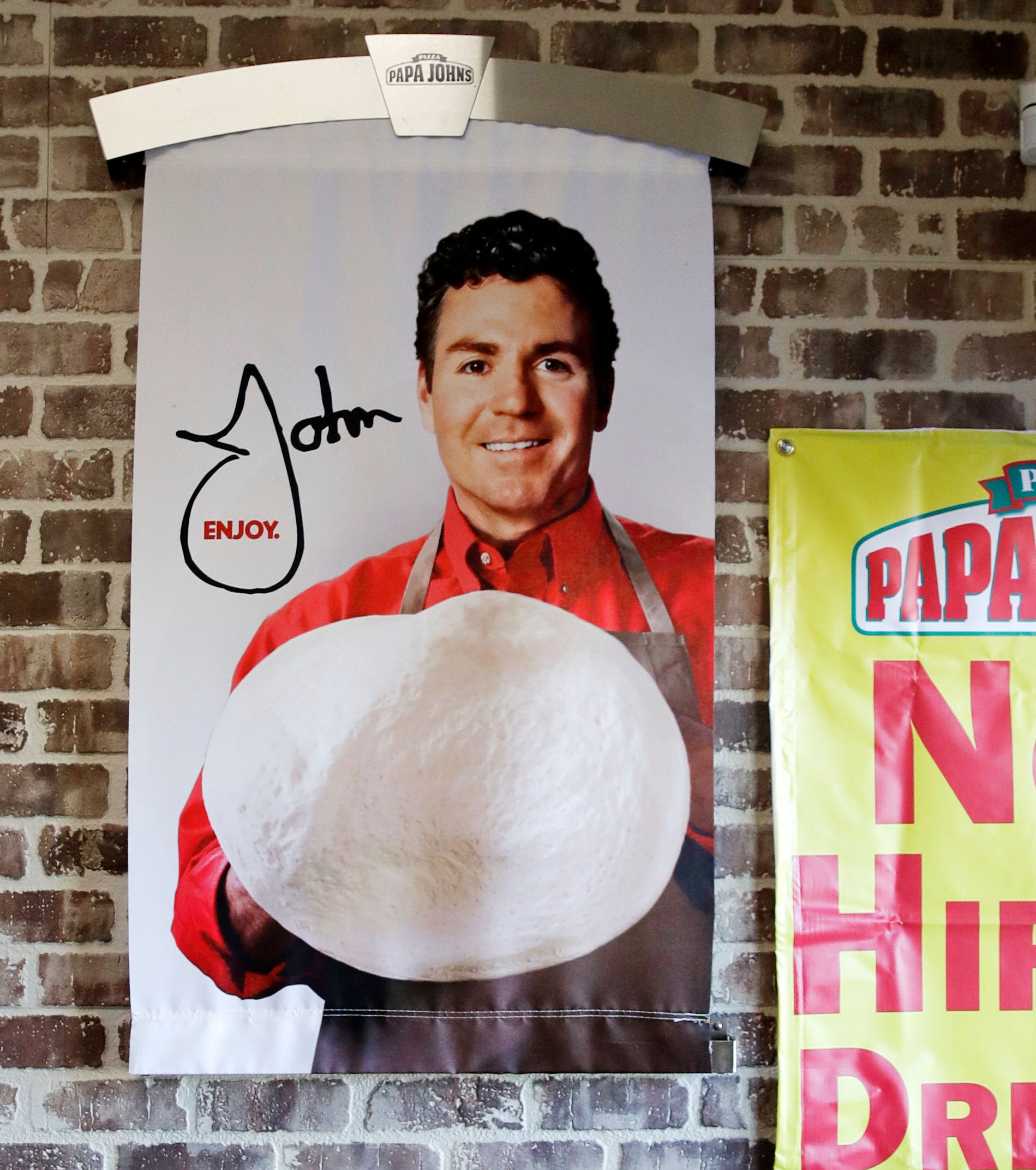 Papa John's to pull founder John Schnatter's image from marketing materials