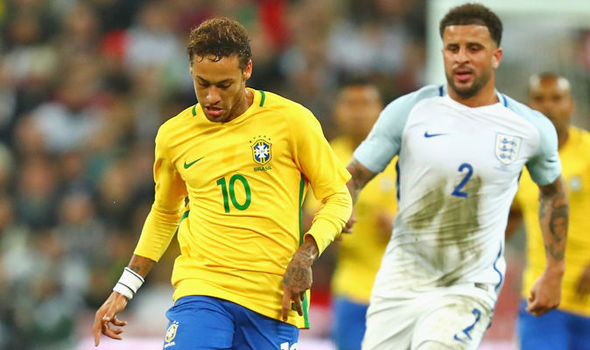 England 0 - Brazil 0: Gareth Southgate's side hold Brazilian stars to goalless draw