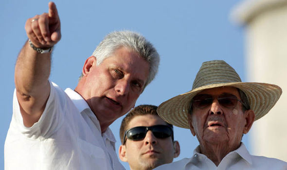 Fidel Castro's brother Raul to step down for new Cuban president Miguel Diaz-Canel