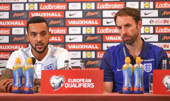 Gareth Southgate confirms Wayne Rooney and Theo Walcott will start for England