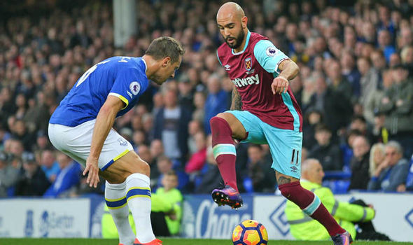 West Ham striker Simone Zaza asked about Napoli transfer