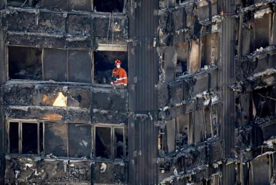 Grenfell Tower building materials may have been illegal, U.K. ministers say
