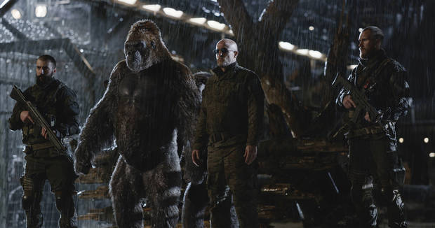 'War for the Planet of the Apes' roars past 'Spider-Man'