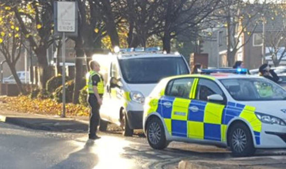 Axe-wielding man injured after shots fired in Hull as police close off street