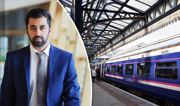 Commuters are NOT getting poor service from ScotRail, insists Humza Yousaf