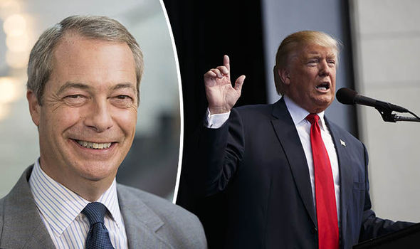 'It was ugly but he's alpha male' Nigel Farage speaks out about Trump controversy