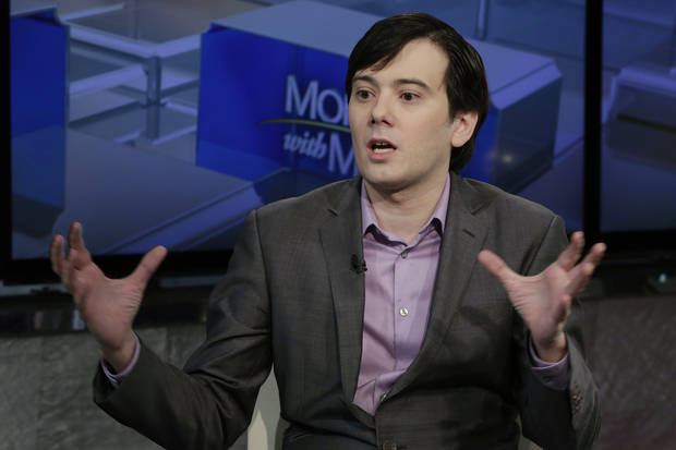 Judge to hear arguments on whether to lock up Pharma Bro