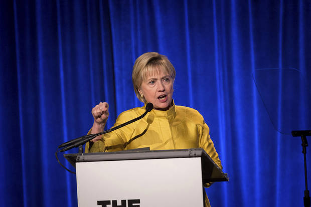 Hillary Clinton warns LGBT progress may not be secure under Trump