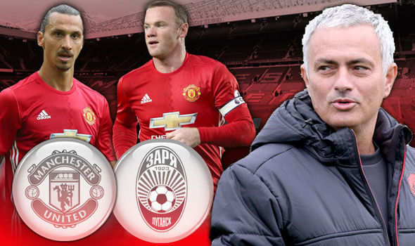 Man United v Zorya Luhansk LIVE: Follow all the Europa League action from Old Trafford