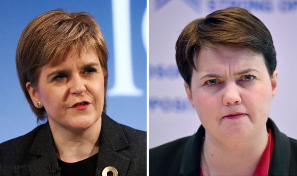Sturgeon put in her place as Ruth Davidson declares Scotland has NO VETO over Brexit vote