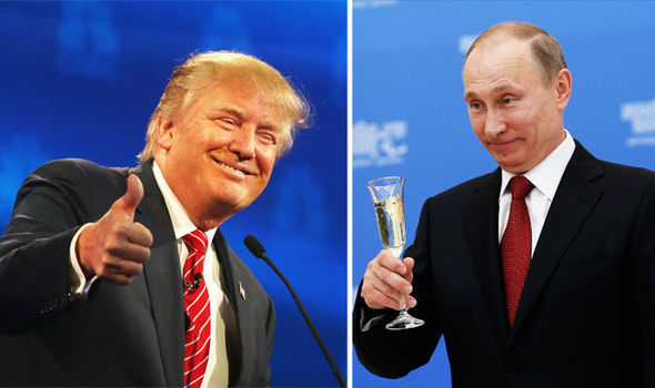 Vladimir Putin calls Donald Trump to say he respects him and is 'ready for a partnership'