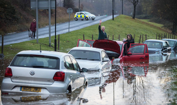 WEATHER WARNING: Britain braces itself for MORE rain after Storm Angus batters the nation