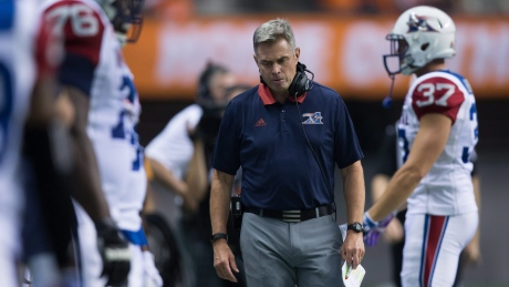 Alouettes fire head coach Chapdelaine, assistant Thorpe: reports