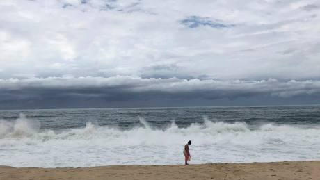 Tropical storm Bud lashes Mexico's Los Cabos with winds