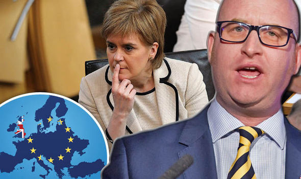 'We ALL voted to Leave' Nuttall attacks Scotland over demands for single market access