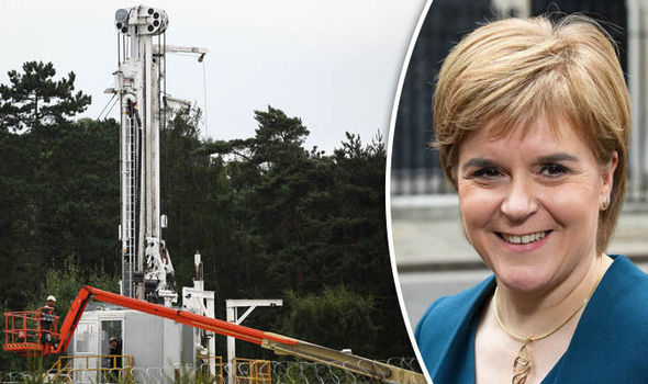 SNP 'dithering' over fracking that could generate BILLIONS of pounds for Scotland