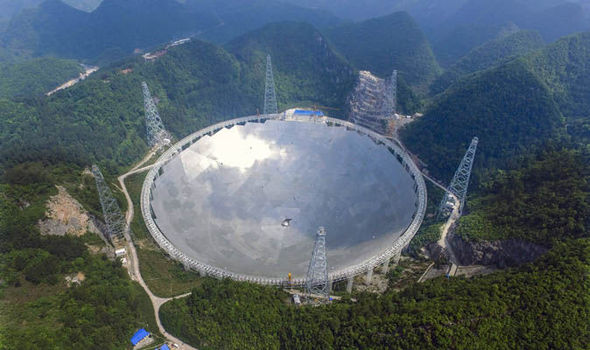 China hunts aliens: Scientists turn on world's largest radio telescope in search for life