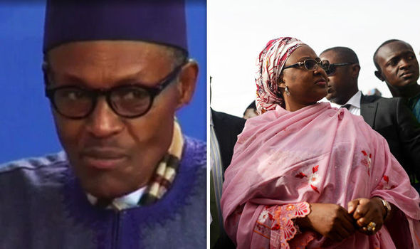 'She belongs to my kitchen' Nigerian president shocking response to wife's comments