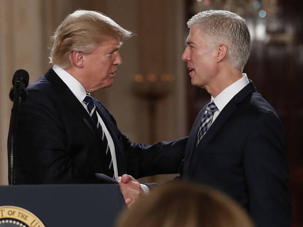 Senate hearings get underway on Trump Supreme Court pick