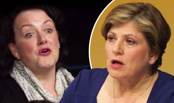Emily Thornberry ROASTED for claiming Brexiteers voted to take their neighbour's job away