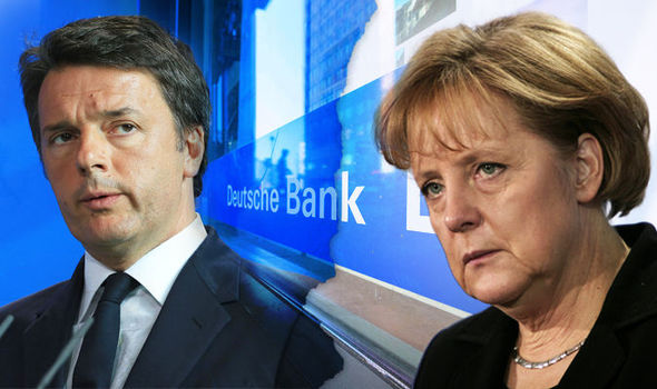 Italy and Germany's SHOWDOWN over Deutsche Bank's rescue