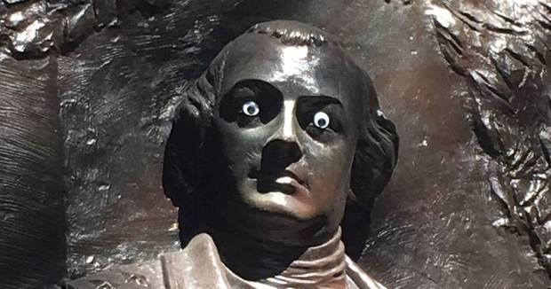 Someone Put Googly Eyes on a Statue in Savannah and Police Are Not Amused