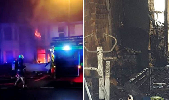 Baby among four fighting for their lives after devastating house fire in Swindon
