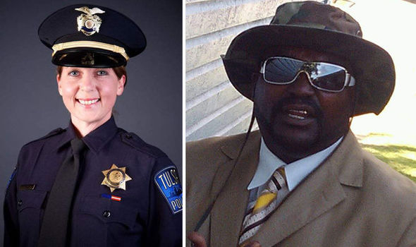 White female police officer charged with manslaughter after shooting unarmed black man