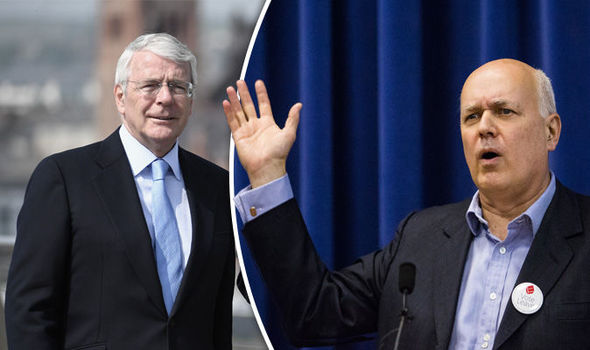 'Do NOT dismiss democracy' Iain Duncan Smith tells Remoaner John Major to ACCEPT BREXIT