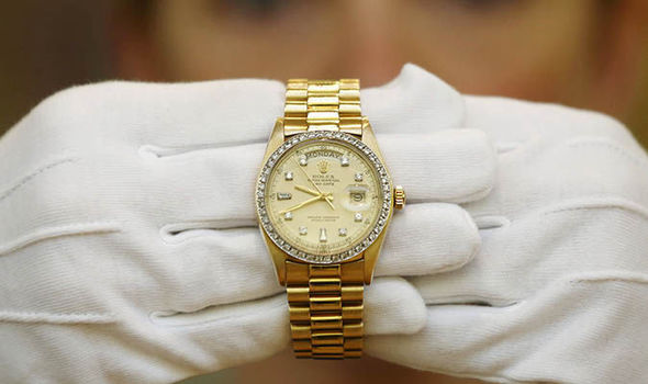 Rolex raider robs man of £24,000 watch at private club