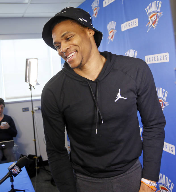 Thunder: Westbrook named to All-NBA first team for second time
