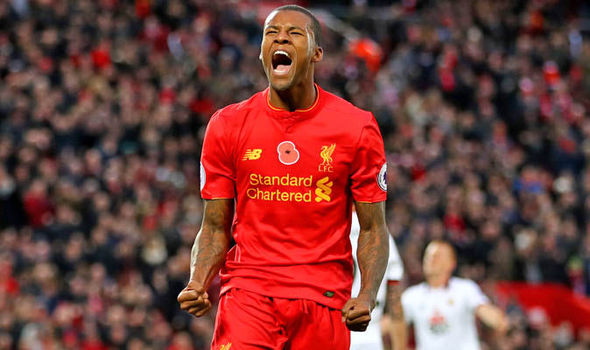 Georginio Wijnaldum: This is why I rejected Tottenham for Liverpool