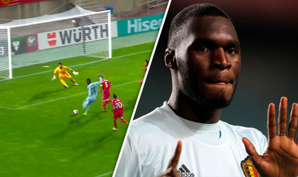 WATCH: Belgium's Christian Benteke scores fastest ever World Cup qualifying goal