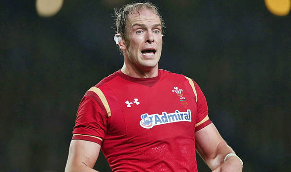 Alun Wyn Jones pulls out of Wales rugby squad following the death of his father