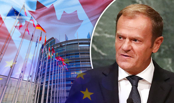 The great EU plan falling to pieces: EU chief admits Canada trade deal may be EU's LAST