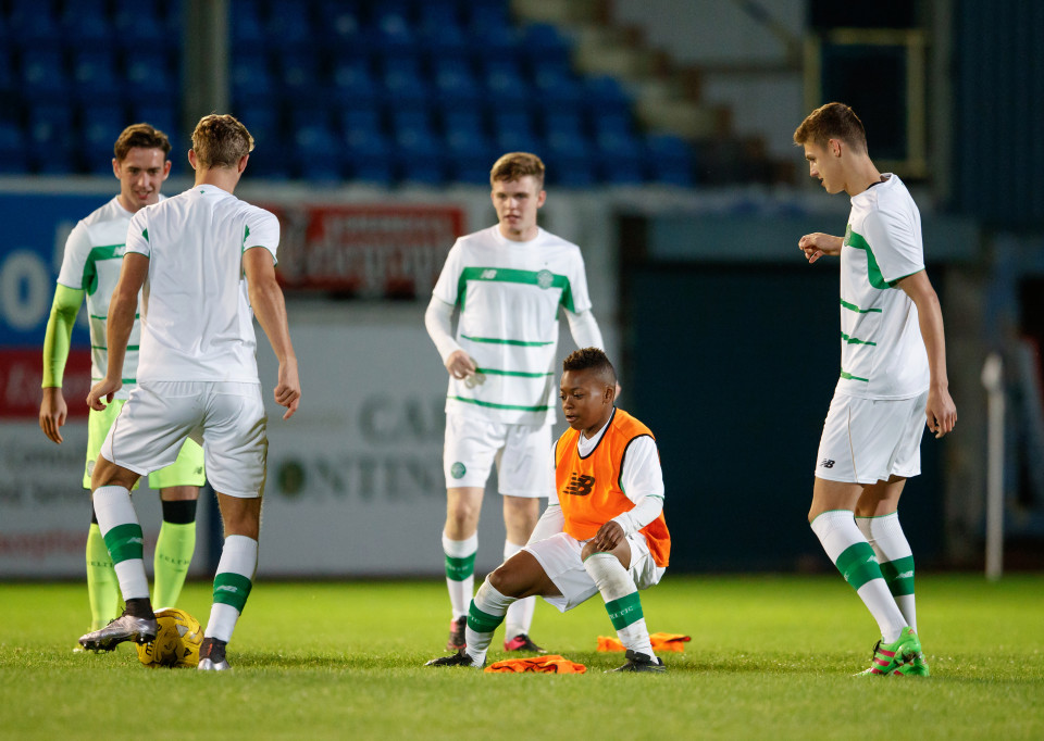 13-year-old Karamoko Dembélé makes debut for Celtic's U20s