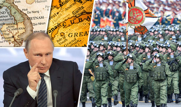 Russia considers opening military bases in VIETNAM and CUBA as fears of WW3 gather pace