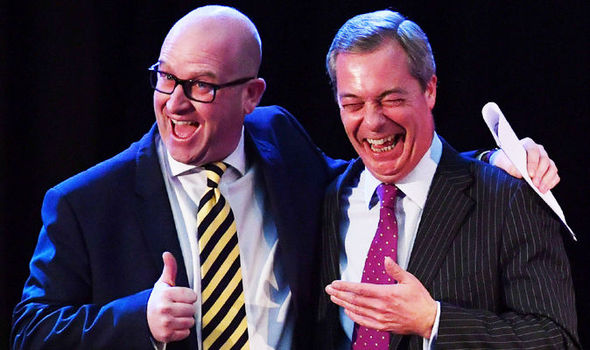 EXCLUSIVE: Ukip leader Paul Nuttall hints Farage WILL RETURN and run as an MP in 2020