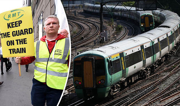 Southern Railway passengers face strike action from NEXT WEEK after talks collapse
