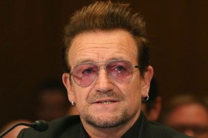 U2 frontman Bono named 'Woman of the Year'