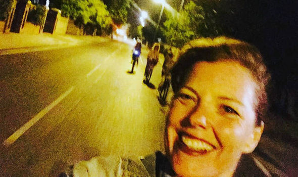 Mother of two dies in a bike crash moments after taking a selfie