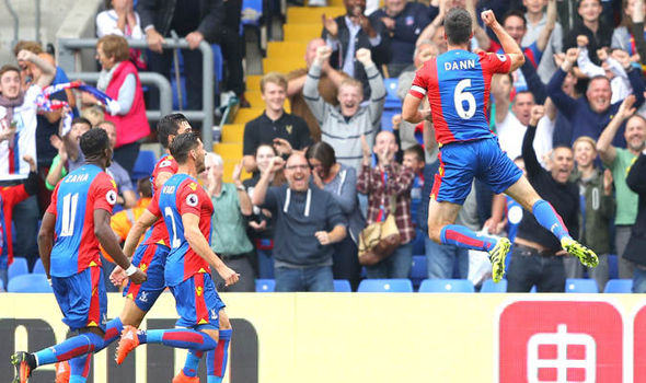 Crystal Palace 4 - Stoke 1: Tomkins, Dann, McArthur and Townsend inflict misery on Potters