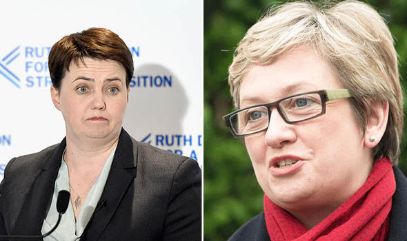 SNP MP accused of promoting HOMOPHOBIA after defending rap about Ruth Davidson's sexuality